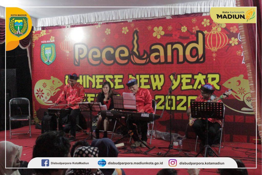 Pentas Seni Periodik Semarakan Peceland Chinese New Year Festival 2020 Dinas Kebudayaan Pariwisata Kepemudaan Dan Olahraga